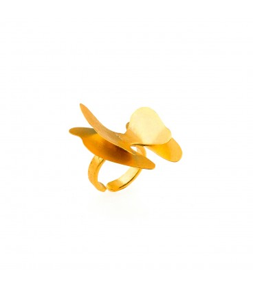 Uniquely shaped ring.