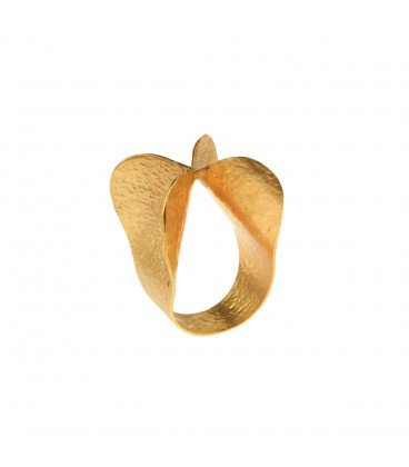 Stylish uniquely shaped ring.