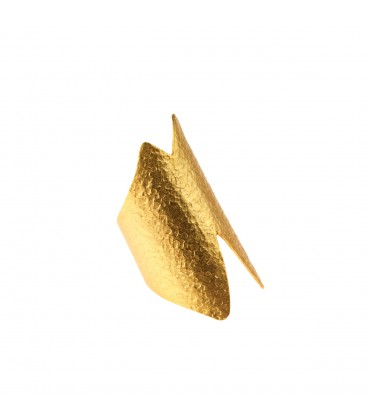 Stylish uniquely shaped ring.