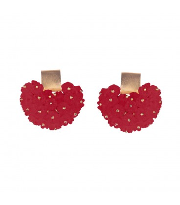Stud regin earrings.