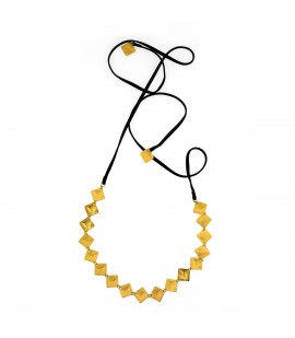 Choker and necklace in one.