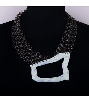 patina necklace