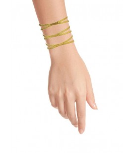 Elegant  bronze gold plated bracelet.